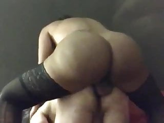 Aylla Gattina pounds guy with her big meaty cock