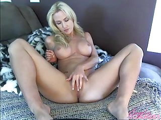 Preview 3 of Blonde gives great blowjob tease