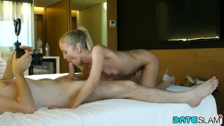 Recorded Fucking This Blonde Hottie On Our First Date