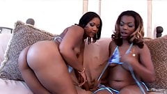 Treasure and Rayven - Chocolate Fondue Threesome