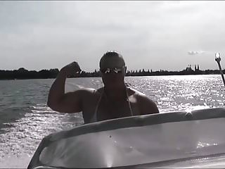 Anna Konda Female Muscle Boat Cruise
