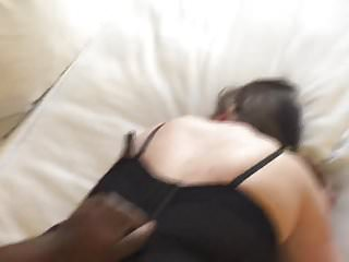 A Cheating Married Denver Slut taking her 1st Black Dick!