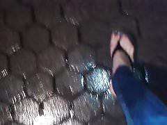 my wet sexy feet