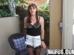 Mofos - Lets Try Anal - Badass Stepsister Tries Anal starrin