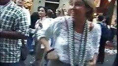 mardi gras flasher asks cops permission