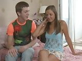 Katrina and her boyfriend fucked hard on the bed