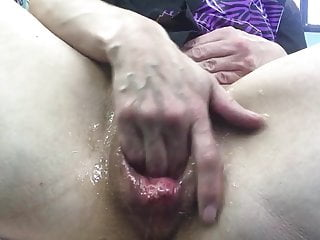 Big Dildo Stretch Part