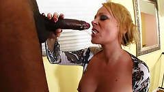 Sunny Day interracial horny MILF MOM