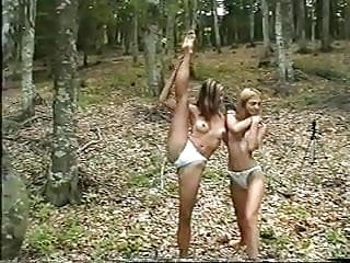 Butt naked girlfriends