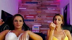 both girls nice bras