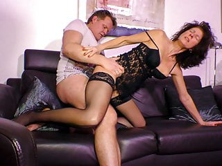 Mature German  Gets Her Pussy Filled with Dick