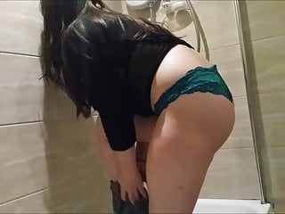 Little Abbie Big Butt Wet T Shirt Shower