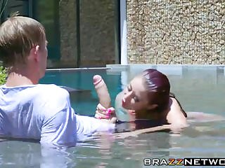Tattooed MILF Monique Alexander pounded by big cock Danny D