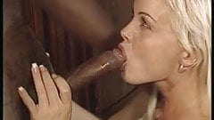 Beautiful blonde MILF enjoys BBC