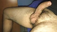 MARRIED LATINO DAD WITH BIG UNCUT MEAT JUST SHOW AND TEASE