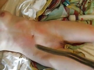 Pussy whipped husband - Slut with perfect body is pussy whipped until she screams