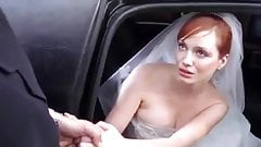 Busty bride cheats with driver