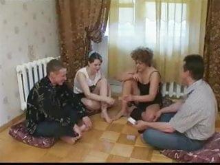 Video strip poker rar - Russian strip poker-swinger couples 1