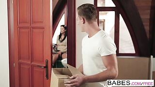 Babes - Step Mom Lessons - Shalina Levine and Rubby Belle an