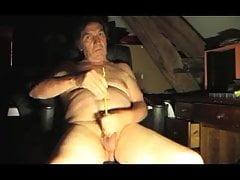 straiht man sounding urethral sextoy dildo sissy transvestit