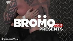 Jordan Levine with Scott Riley at Submission Part 4 Scene 1