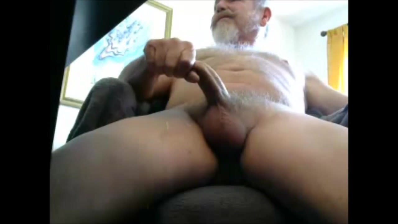 Mature bear verbal orgasm