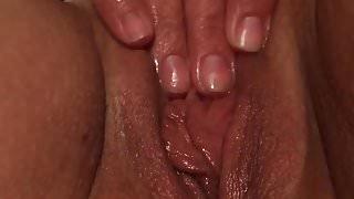 Wife masterbating to orgasm