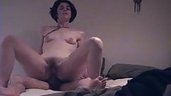 Amateur reverse cowgirl anal