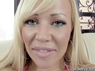 Busty Blonde Milf Austin Taylor Loves To Suck Cock