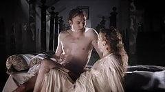 Male Celebs Giulio Berruti and Lars Eidinger nude scene