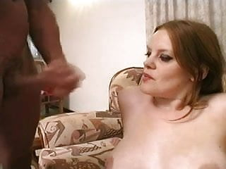 British slut Autumn gets fucked on the sofa