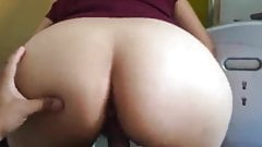 Bouncing On A Old Hard Cock