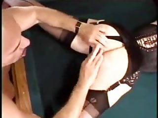 Cuckold Over the Pool Table