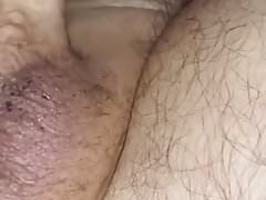 My Small Cock Cumming in Bed