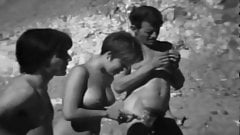 Vintage Nudist Clip From The 60's