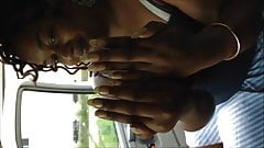 Lady Reese Long Fingernails And Blue Toenails