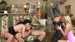 Motorcycle Shopping Leads To Anal Foursome - Tira,Denys's Thumb