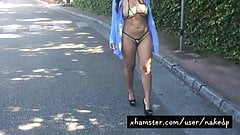 MicroBikini Hot Walk