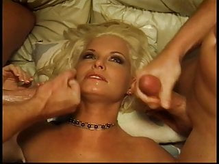 Blonde cock loving whore gets her tight asshole licked and fucked