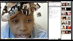 Pregnant Ebony with Big Boobs on cam