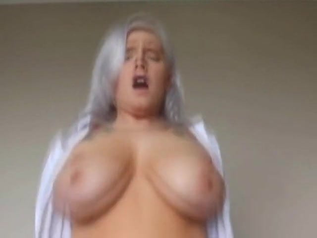 Son Blackmails Mom Big Tits