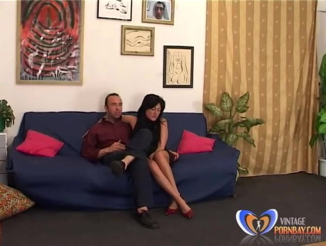 Italian Mature Fucked Hard in Vintage Porn