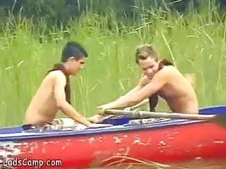 Boyz boat fucking