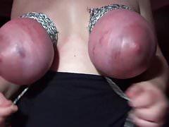 hard breast bondage