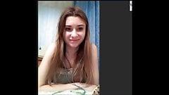 Hot Russian Teen on Skype