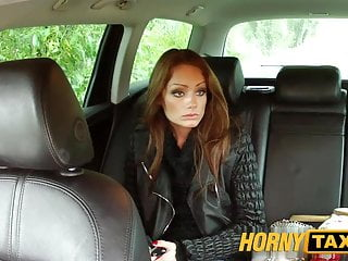 Hornytaxi Hungarian Brunette Takes On A Big Thick Cock