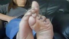 Wife's Sweaty feet