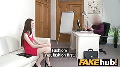 Fake Agent Casting slim pretty shy 18yr Belarus girl