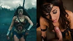 SekushiLover - Wonder Woman's Blowjob Skills