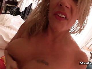 Polish MILF with milky lactating tits